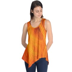 Orange Wonder 2 Sleeveless Tunic