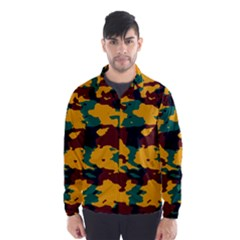 Camo texture Wind Breaker (Men)
