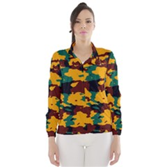 Camo texture Wind Breaker (Women)