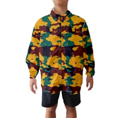 Camo texture Wind Breaker (Kids)