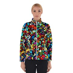 Colorful Stones, Nature Winter Jacket