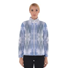 Ice Crystals Abstract Pattern Winter Jacket