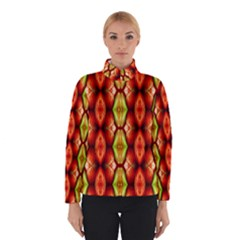 Melons Pattern Abstract Winter Jacket