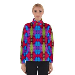 Colorful Painting Goa Pattern Winter Jacket