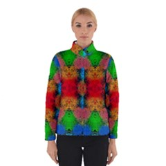 Colorful Goa   Painting Winter Jacket