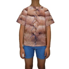 Stitches By Ignatius Rake Kid s Short Sleeve Swimwear