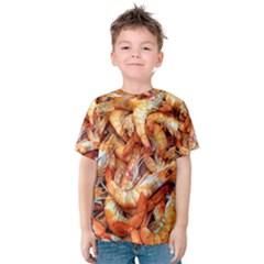 Shrimp Design Ignatius Rake Kid s Cotton Tee