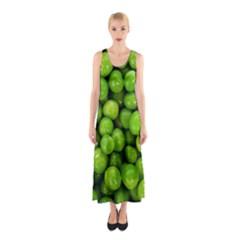 Peas Rule By Ignatius Rake Full Print Maxi Dress