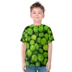 Peas Rule By Ignatius Rake Kid s Cotton Tee