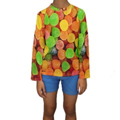 Sweets By Sandi Kid s Long Sleeve Swimwear