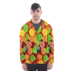 Sweets By Sandi Hooded Wind Breaker (Men)