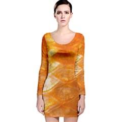 Sacles By Sandi Long Sleeve Velvet Bodycon Dress