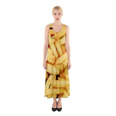 Chips By Sandi Full Print Maxi Dress