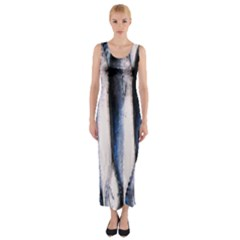 Fish By Sandi Fitted Maxi Dress