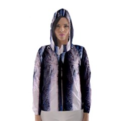 Fish Detail By Sandi Hooded Wind Breaker (Women)