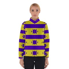 Tribal shapes and stripes Winter Jacket