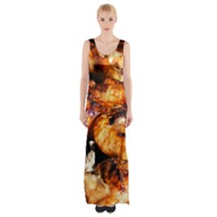 Chicken By Sandi Maxi Thigh Split Dress