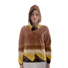 Burger By Sandi Hooded Wind Breaker (Women)