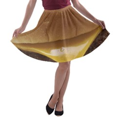 Burger By Sandi A-line Skater Skirt