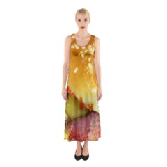 Bacon Burger By Sandi Full Print Maxi Dress