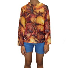 Tetters And Meat By Sandi Kid s Long Sleeve Swimwear