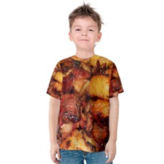 Tetters And Meat By Sandi Kid s Cotton Tee