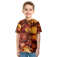 Tetters And Meat By Sandi Kid s Sport Mesh Tee