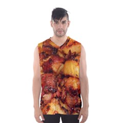 Tetters And Meat By Sandi Men s Basketball Tank Top