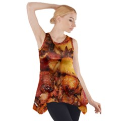 Tetters And Meat By Sandi Side Drop Tank Tunic
