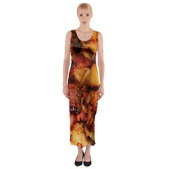 Tetters And Meat By Sandi Fitted Maxi Dress