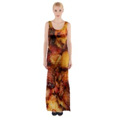 Tetters And Meat By Sandi Maxi Thigh Split Dress