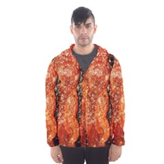 Bacon Cooking By Sandi Hooded Wind Breaker (Men)