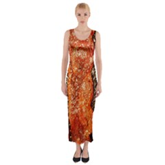 Bacon Cooking By Sandi Fitted Maxi Dress