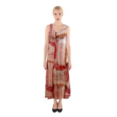 Bacon Lattice By Sandi Full Print Maxi Dress