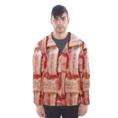 Bacon Lattice By Sandi Hooded Wind Breaker (Men)