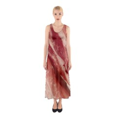 Bacon Rashers By Sandi Full Print Maxi Dress