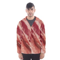Bacon Rashers By Sandi Hooded Wind Breaker (Men)