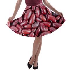 Kidney Beans By Sandi A-line Skater Skirt