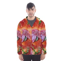 Pizza Topping By Sandi Hooded Wind Breaker (Men)