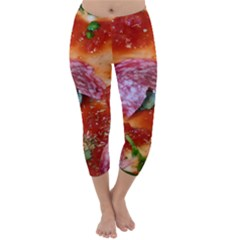 Pizza Topping By Sandi Capri Winter Leggings