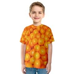 Oranges By Sandi Kid s Sport Mesh Tee