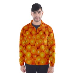 Oranges By Sandi Wind Breaker (Men)
