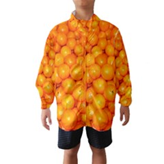 Oranges By Sandi Wind Breaker (Kids)