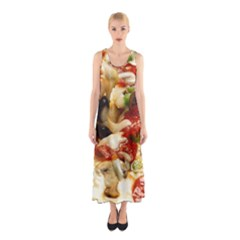 Pizza By Sandi Full Print Maxi Dress