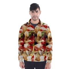 Pizza By Sandi Wind Breaker (Men)