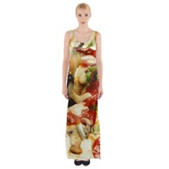 Pizza By Sandi Maxi Thigh Split Dress