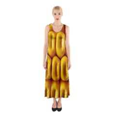 Sweet Corn By Sandi Full Print Maxi Dress