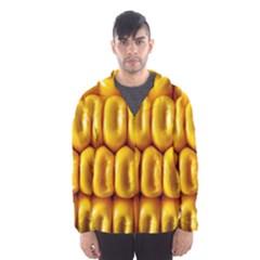 Sweet Corn By Sandi Hooded Wind Breaker (Men)