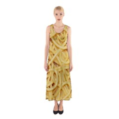 Spaghetti By Sandi Full Print Maxi Dress