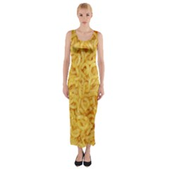 Noodles By Sandi Fitted Maxi Dress